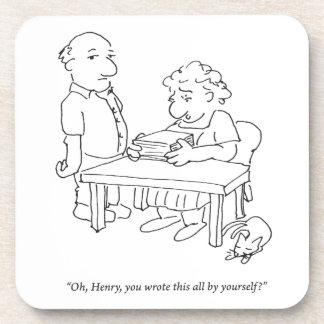 これを書きましたか。 コースター