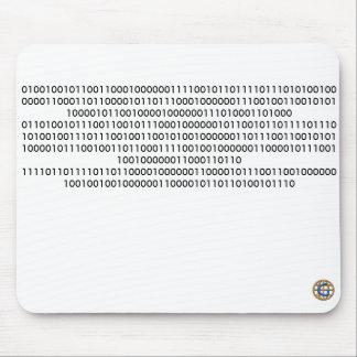"""… """"これを読むことができればギークの2進符号"""" マウスパッド"""