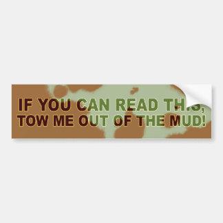 …これを読むことができれば バンパーステッカー