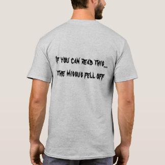 これを読むことができればMissusは下りました Tシャツ