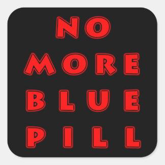 これ以上の青い丸薬 スクエアシール