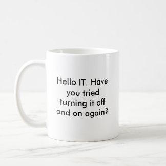 こんにちはそれマグ コーヒーマグカップ