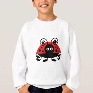 こんにちはてんとう虫 スウェットシャツ