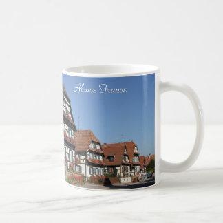 こんにちはアルザスフランスのdefの写真撮影 コーヒーマグカップ
