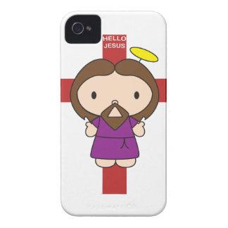 こんにちはイエス・キリスト Case-Mate iPhone 4 ケース