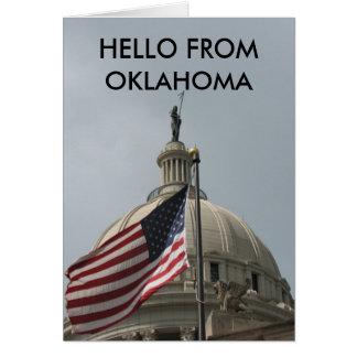 こんにちはオクラホマから カード