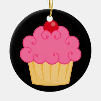 こんにちはカップケーキ! セラミックオーナメント