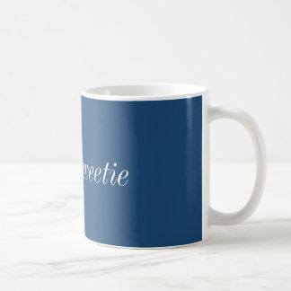 こんにちはキャンディのマグ(青い) コーヒーマグカップ