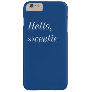 こんにちはキャンディのiPhone 6+ やっとそこに場合 Barely There iPhone 6 Plus ケース