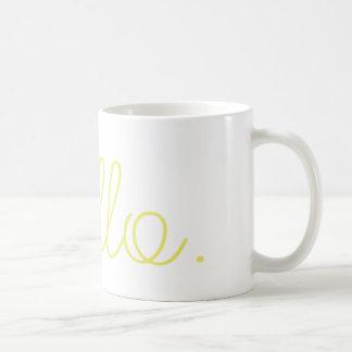 こんにちはコーヒー・マグ コーヒーマグカップ
