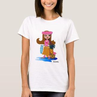 こんにちはトロッコ: Huliおよび友人 Tシャツ