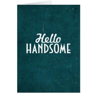 こんにちはハンサム カード