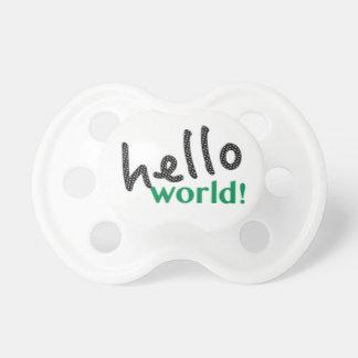 こんにちは世界の調停者 おしゃぶり