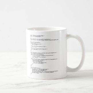 こんにちは世界! コーヒーマグカップ