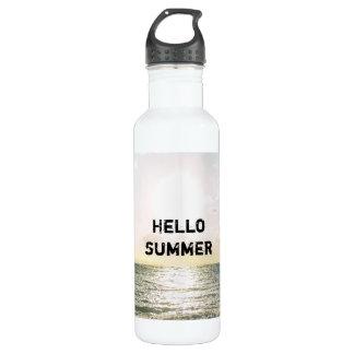 """""""こんにちは励ます夏"""" ウォーターボトル"""