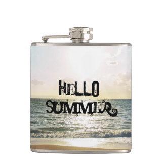"""""""こんにちは励ます夏"""" フラスク"""