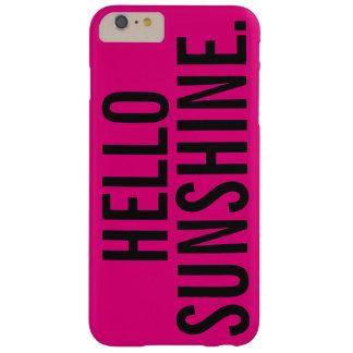 こんにちは堅い日光、iPhone 6/6sと Barely There iPhone 6 Plus ケース