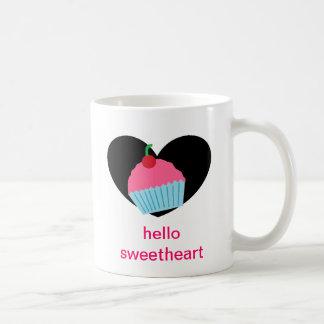 こんにちは恋人 コーヒーマグカップ