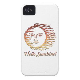 こんにちは日光のおもしろいの日曜日の夏 Case-Mate iPhone 4 ケース