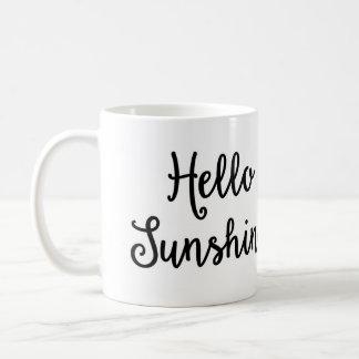 こんにちは日光のマグ コーヒーマグカップ