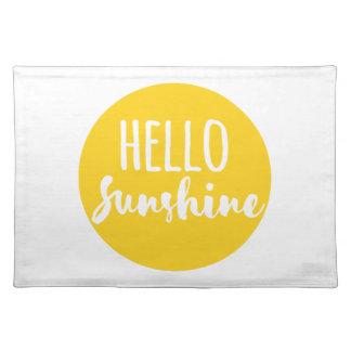 こんにちは日光 ランチョンマット