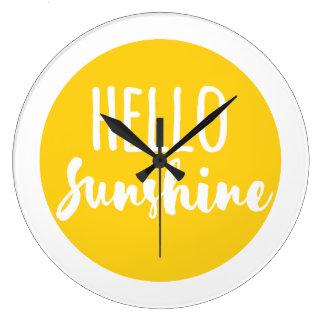 こんにちは日光 ラージ壁時計