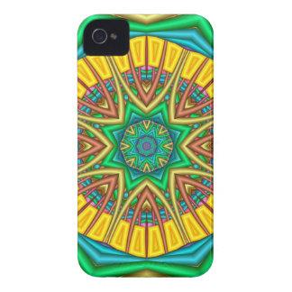 """""""こんにちは日光! """"、万華鏡のように千変万化するパターンの抽象芸術 Case-Mate iPhone 4 ケース"""