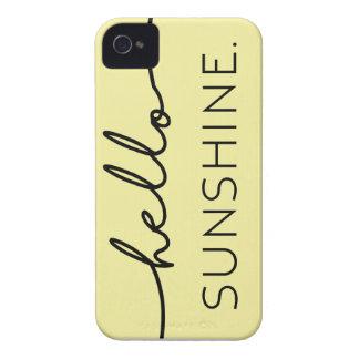 こんにちは日光-黄色 Case-Mate iPhone 4 ケース