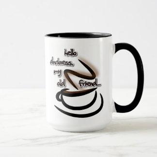 こんにちは暗闇のマグ マグカップ