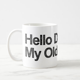 こんにちは暗闇私の旧友 コーヒーマグカップ