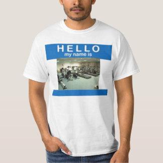 こんにちは私の名前はジムです Tシャツ