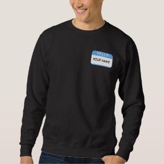 こんにちは私の名前はスエットシャツです スウェットシャツ