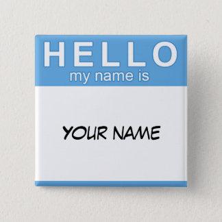 こんにちは私の名前はボタンです 缶バッジ