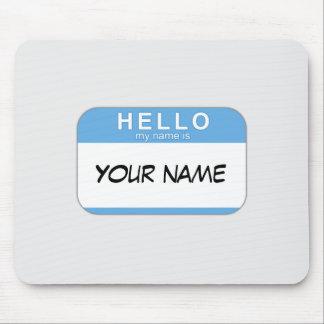こんにちは私の名前はマウスパッドです マウスパッド