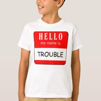 こんにちは私の名前は悩みです Tシャツ