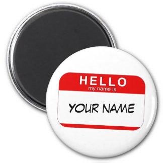 こんにちは私の名前は磁石です マグネット