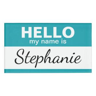 こんにちは私の名前は-名前入りです 名札