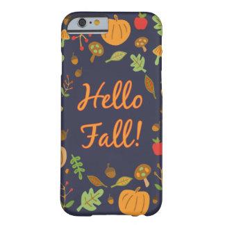 こんにちは秋! BARELY THERE iPhone 6 ケース