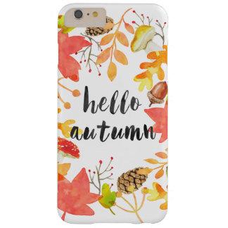 こんにちは秋 BARELY THERE iPhone 6 PLUS ケース
