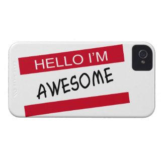 こんにちは素晴らしいIm Case-Mate iPhone 4 ケース