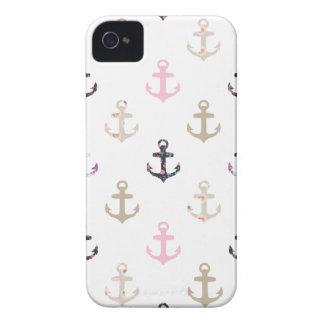 こんにちは船員! レトロのヴィンテージのガーリーで航海のないかり Case-Mate iPhone 4 ケース