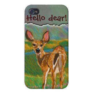 こんにちは親愛なシカのiphone 4ケース iPhone 4/4S ケース