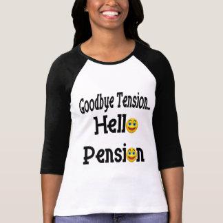 こんにちは退職年金 Tシャツ