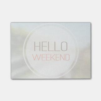 こんにちは週末2 ポストイット