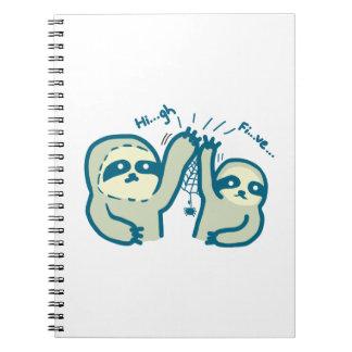 こんにちは5怠惰のノート ノートブック