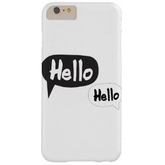 こんにちは、こんにちは BARELY THERE iPhone 6 PLUS ケース
