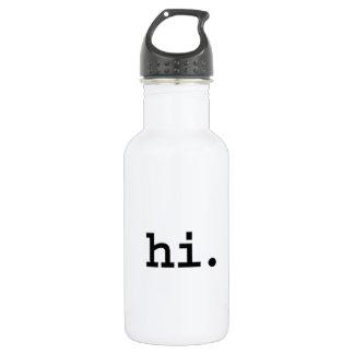 こんにちは ウォーターボトル