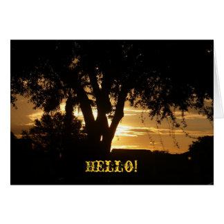 こんにちは! カード