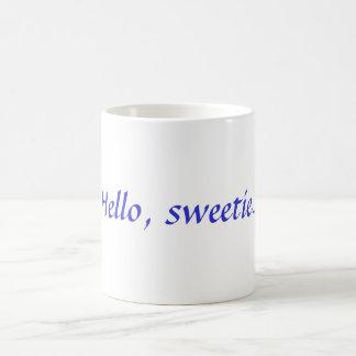 こんにちは、キャンディのコーヒー・マグ モーフィングマグカップ