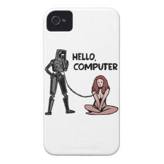 こんにちは、コンピュータ Case-Mate iPhone 4 ケース